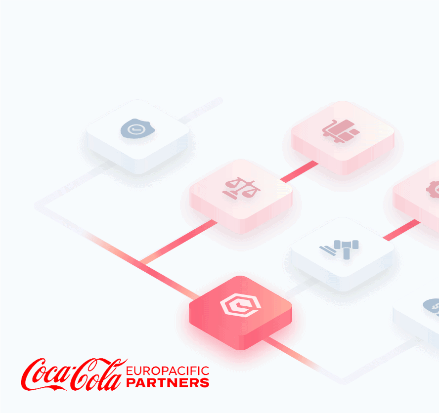 legal automation software coca cola europacific partners